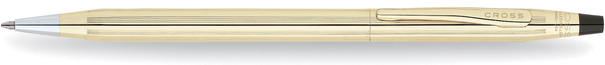 Cross Classic Century 10 Carat Gold Filled/Rolled Gold Ballpoint Pen 4502