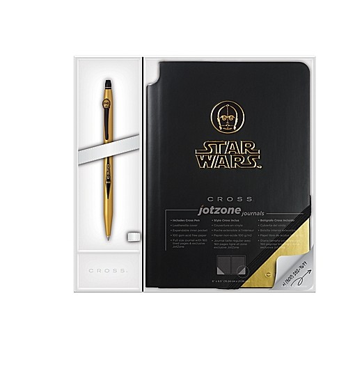 Cross Click Star Wars Collection C-3PO Rollerball Pen & Journal Gift Set AT0625SD-16/1