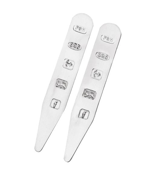 Sterling Silver Collar Stiffeners 8355