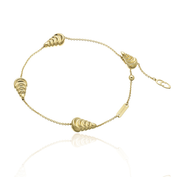 Chimento 18ct Yellow Gold Armillas Moon Bracelet 1B01520ZZ1190