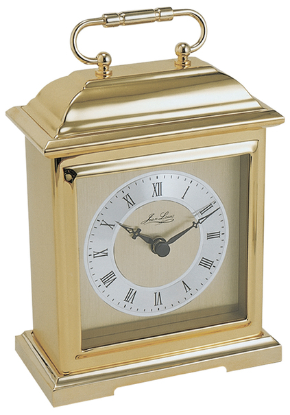 Jean Louis Gold Plated Quartz Westminster Chime Carriage Clock 1403