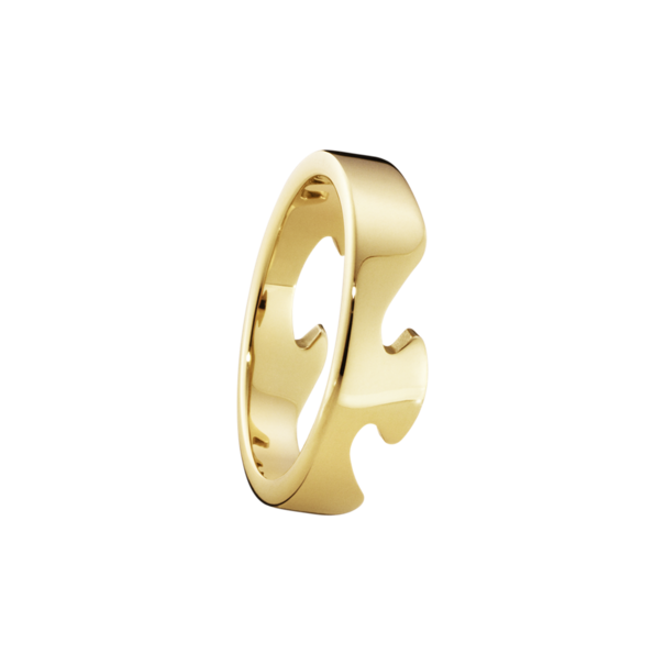 Georg Jensen FUSION 18ct Gold End Ring 3541680