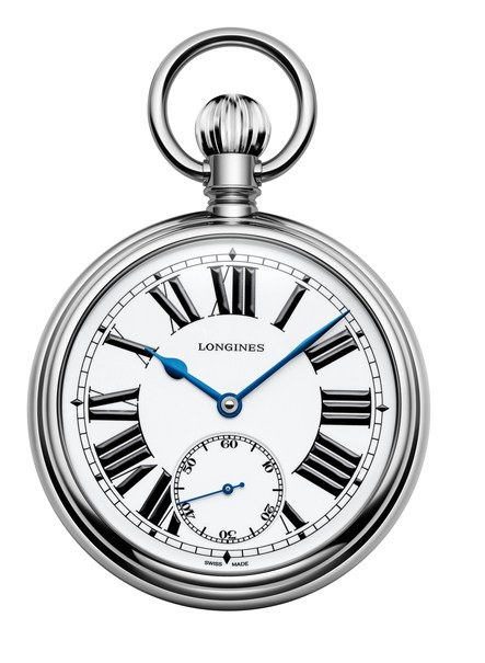 Longines Heritage RailRoad Limited Edition Stainless Steel Pocket Watch L70394212