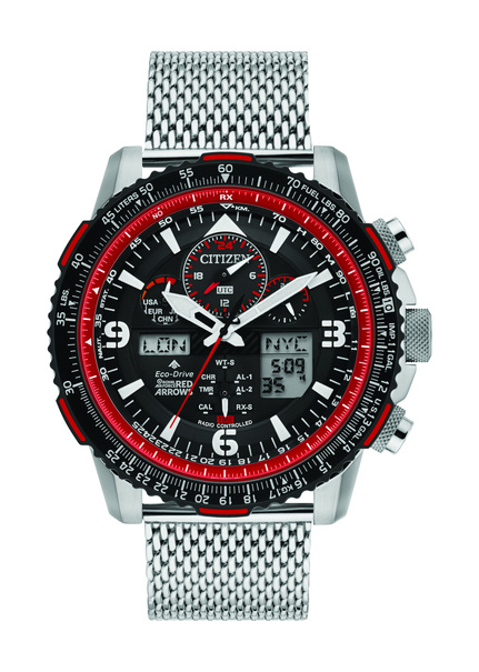 Citizen Eco-Drive Red Arrows Skyhawk A-T Limited Edition Radio Controlled Chronograph Watch JY8079-76E