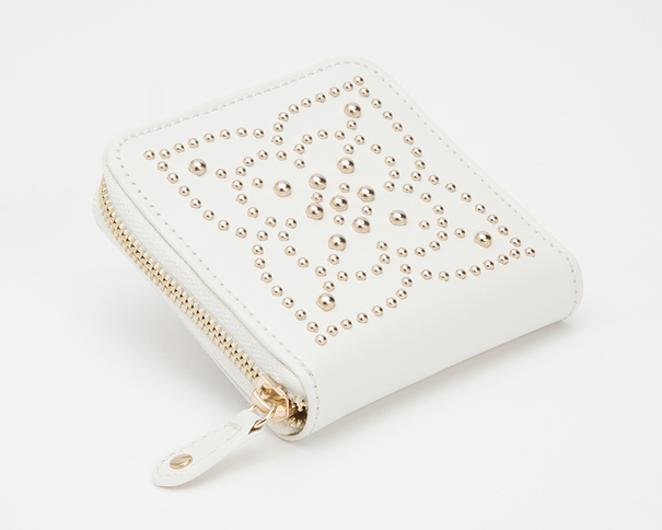 WOLF Marrakesh Cream Travel Zip Jewellery Case 308553
