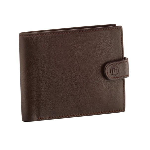 Fred Bennett Brown Leather Wallet W016