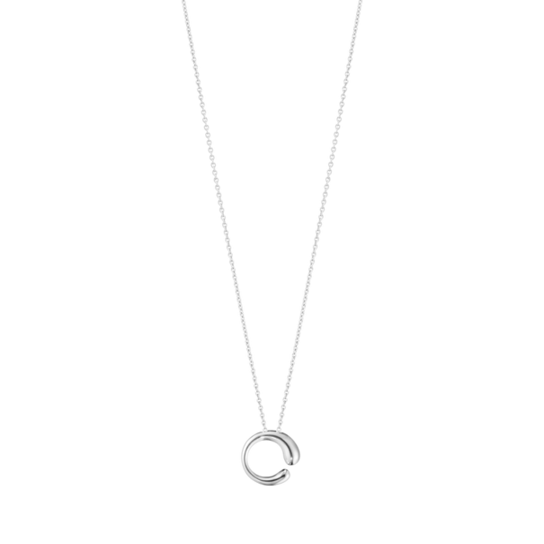 Georg Jensen MERCY Sterling Silver Pendant Necklace (Small) 10015155