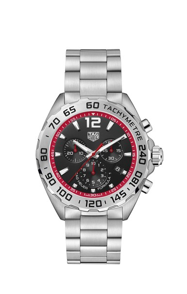 TAG Heuer Formula 1 Black Dial Stainless Steel Mens Quartz Chronograph Watch CAZ101Y.BA0842
