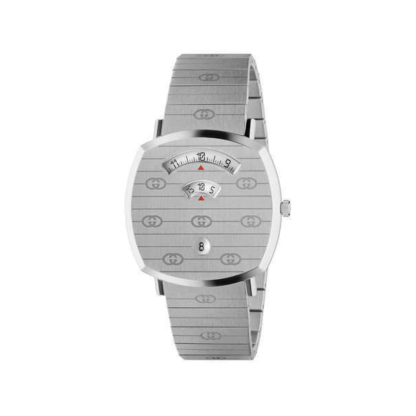 Gucci Grip 38mm Stainless Steel Unisex Quartz Watch YA157410