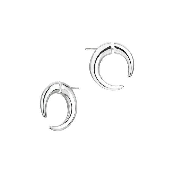 Shaun Leane Sterling Silver Quill Small Hoop Earrings QU040.SSNAEOS