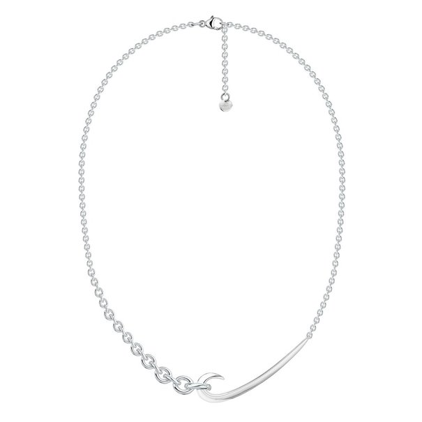 Shaun Leane Sterling Silver Hook Chain Choker Pendant Necklace HT025.SSNANOS