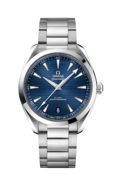 Omega Seamaster Aqua Terra 150M Omega Co-Axial Master Chronometer Blue Dial Stainless Steel Mens 41mm Wristwatch 22010412103004