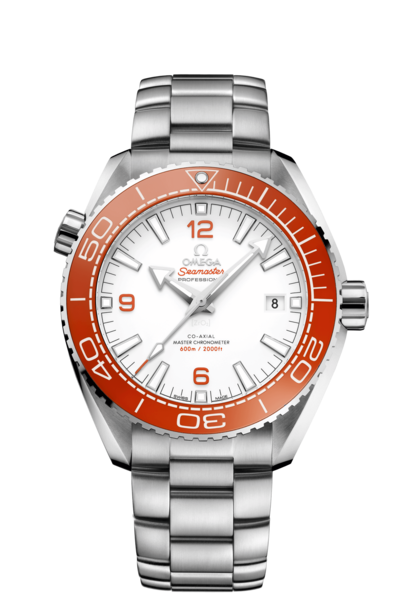 Omega Seamaster Planet Ocean 600M Omega Co-Axial Master Chronometer White Dial Stainless Steel Mens 43.5mm Wristwatch 21530442104001