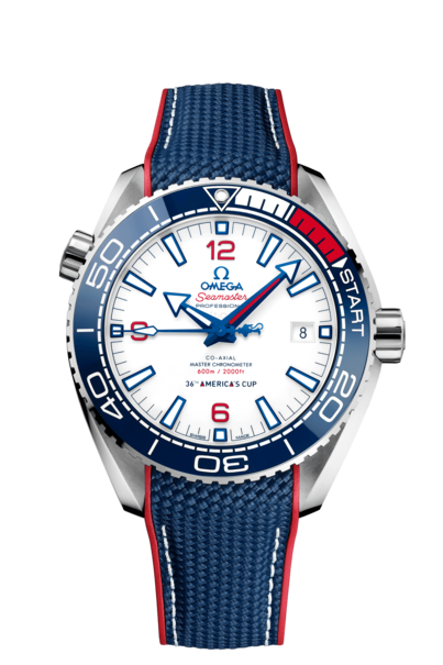Omega Seamaster Planet Ocean 600M Omega Co-Axial Master Chronometer America's Cup Limited Edition Mens 43.5mm Wristwatch 21532432104001