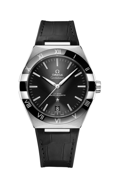 Omega Constellation 41mm Black Dial Stainless Steel Co-Axial Master Chronometer Mens Watch 13133412101001