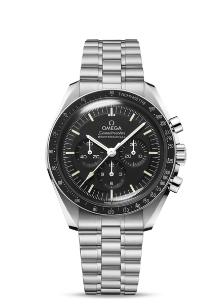 Omega Speedmaster Moonwatch Professional Co‑Axial Master Chronometer Stainless Steel Mens Chronograph Watch 31030425001001