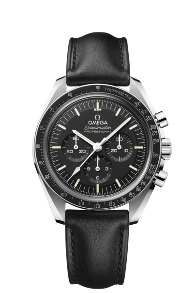Omega Speedmaster Moonwatch Professional Co‑Axial Master Chronometer Stainless Steel Mens Chronograph Watch (Sapphire Crystal) 31032425001002