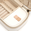 WOLF Chloé Cream Zip Jewellery Case 301253 Thumbnail