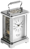 Woodford Chrome Plated Mechanical Obis Carriage Clock 1415 Thumbnail