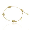 Chimento 18ct Yellow Gold Armillas Moon Bracelet 1B01520ZZ1190 Thumbnail