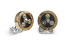 Deakin & Francis Rose Gold Plated Sun & Planet Gear Cufflinks BMC0004C0001 Thumbnail