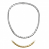 Chimento 18ct Yellow & White Gold Double Spring Reversible Necklace 1G00965B1A430 Thumbnail