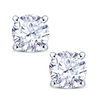 18ct White Gold 4 Claw Set 0.50ct Diamond Stud Earrings Thumbnail