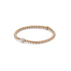 FOPE Flex'it Eka Tiny 18ct Rose Gold & Diamond Bracelet 733BPAVEM Thumbnail