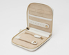 WOLF Marrakesh Cream Travel Zip Jewellery Case 308553 Thumbnail