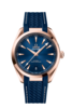 Omega Seamaster Aqua Terra 150M Omega Co-Axial Master Chronometer Blue Dial 18ct Rose Gold Mens 41mm Wristwatch 22052412103001 Thumbnail