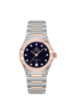 Omega Constellation Manhattan Blue Dial Diamond Set Omega Co-Axial Master Chronometer Two Tone Womens Watch 13125292053002 Thumbnail