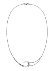 Shaun Leane Sterling Silver Hook Necklace SLS482