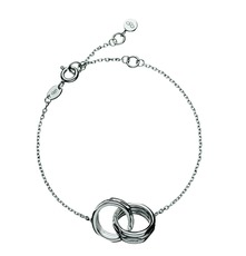 Links of London Sterling Silver 20/20 Interlocking Bracelet 5010.1152