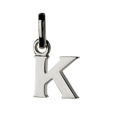 Links of London Sterling Silver Letter K Initial Charm 5030.1104