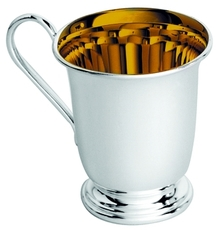 Child's Silver Plated Christening Cup/Mug