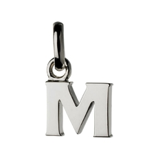 Links of London Sterling Silver Letter M Initial Charm 5030.1106