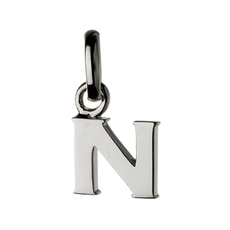 Links of London Sterling Silver Letter N Initial Charm 5030.1107