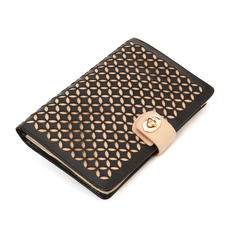WOLF Chloé Black Large Jewellery Portfolio 301302