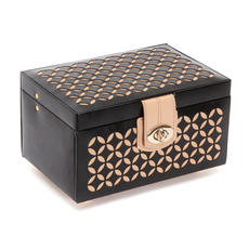 WOLF Chloé Black Small Jewellery Box 301102