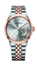Raymond Weil Freelancer Silver Dial Two Tone Mens Watch 2770-SP5-65011