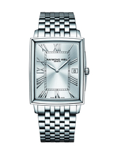 Raymond Weil Tradition Silver Dial Stainless Steel Mens Quartz Watch 5456-ST-00658