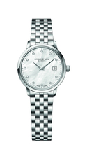 Raymond Weil Toccata Mother of Pearl Dial Stainless Steel Womens Quartz Watch 29mm 5988-ST-97081