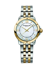 Raymond Weil Tango Mother of Pearl Dial Two Tone Womens Quartz Watch 5391-STP-00995