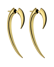 Shaun Leane Vermeil Signature Tusk Hook Earrings (size 1) SLS267