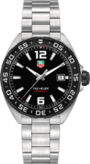 TAG Heuer Formula 1 Black Dial Stainless Steel Mens Quartz Watch WAZ1110.BA0875
