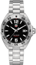 TAG Heuer Formula 1 Black Dial Stainless Steel Mens Quartz Watch WAZ1112.BA0875