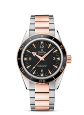 Omega Seamaster 300 Two Tone Omega Master Co-Axial Mens Watch 23320412101001