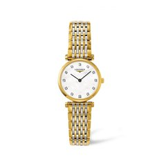 Longines La Grande Classique de Longines Mother of Pearl Diamond Set Dial Two Tone Womens Quartz Watch L42092877