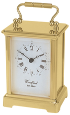Woodford Brass Obis Quartz Carriage Clock 1408