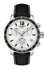 Tissot Quickster Silver Dial Stainless Steel Mens Quartz Chronograph Watch T0954171603700